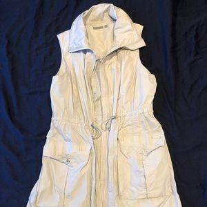 Athleta long knee length vest